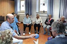 Physiotherapie bei der Gruppentherapie